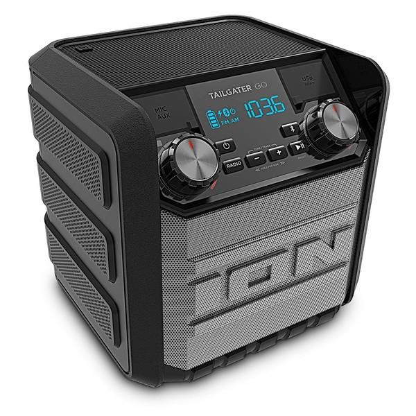 ION Tailgater Go Portable Speaker - Angled