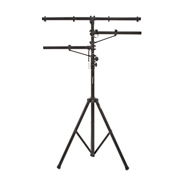 Adjustable Lighting Stand with Addition T Bars by Gear4music