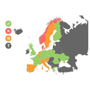 VHF Wireless Frequency License Map