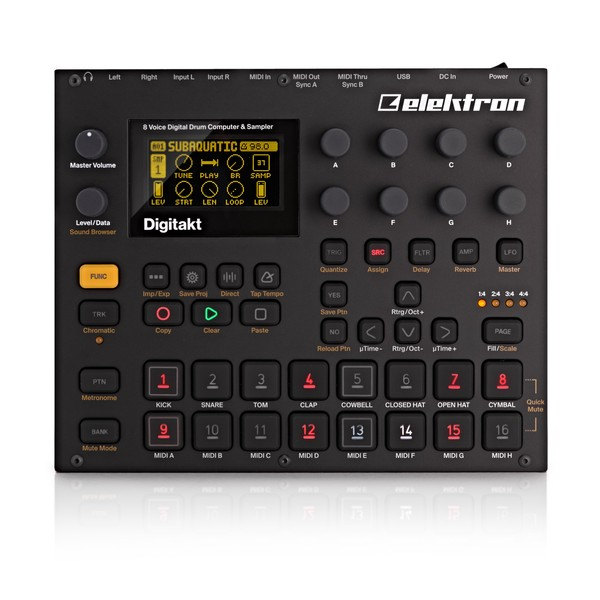 Elektron Digitakt Drum Computer and Sampler