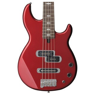 Yamaha BB425 5-String Bass Guitar, Red