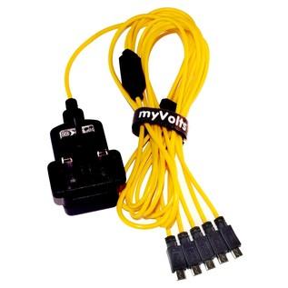 MyVolts Roland Boutique 5 Way USB Splitter with USB PSU - Main