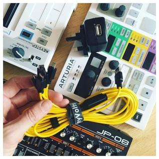 MyVolts Roland Boutique 5 Way USB Splitter Power Supply - Lifestyle