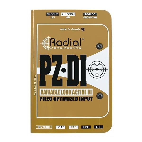 Radial PZ-DI Instrument DI Box - Top