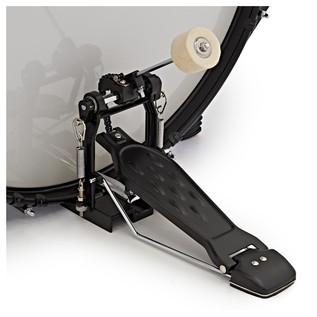BDK-1plus Full Size Starter Drum Kit + Practice Pack, Black