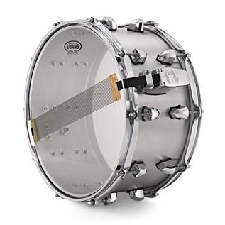SJC Drums 14'' x 7'' Titan Snare Drum, Brushed Aluminium