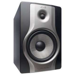 M-Audio BX8 Carbon Active Studio Monitor, Black - Angled