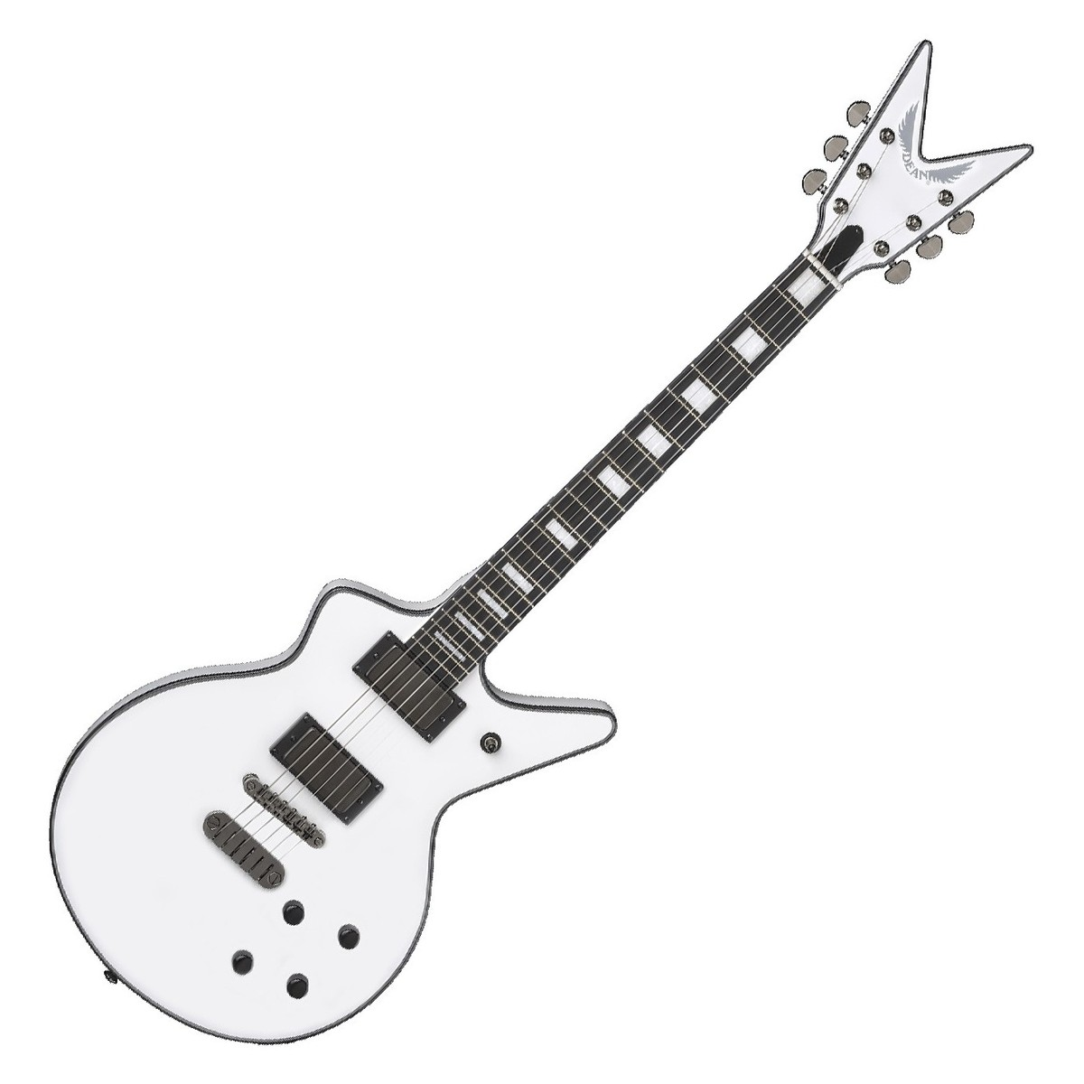 dean cadillac 1980 classic white at gear4music Eub Bass loading zoom