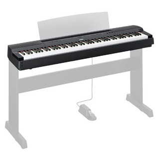 Yamaha P-Series P-255 Lightweight Digital Piano, Black
