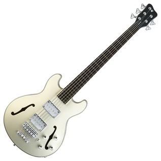 Warwick Rockbass StarBass 5-String Bass, Cream White