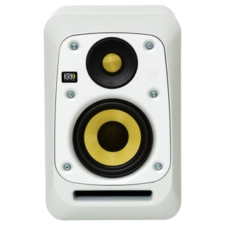 KRK V4S4 Studio Monitor White, Single - Front (Without Grille)