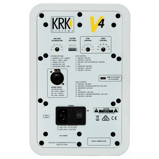 KRK V4S4 6-Inch Active Studio Monitor - Rear