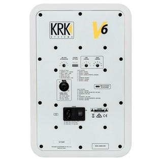 KRK V6S4 Bi-Amplified Studio Monitor - Rear