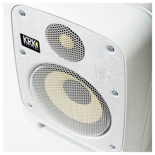 KRK V6S4 Studio Monitor White, Single - Detail 3