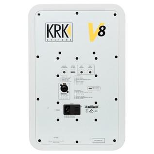 KRK V8S4 Bi-Amplified Studio Monitor - Rear