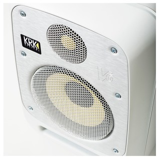 KRK V8S4 Studio Monitor White, Single - Detail 3