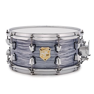 SJC Drums Providence 14'' x 6.5'' Snare Drum, Silver Ripple