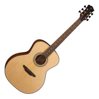 Luna Art Recorder Solid Wood Acoustic Guitar Front