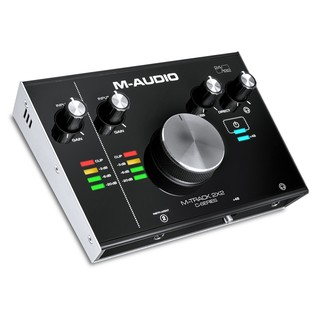 M-Audio M-Track 2x2 C-Series Audio Interface - Angled