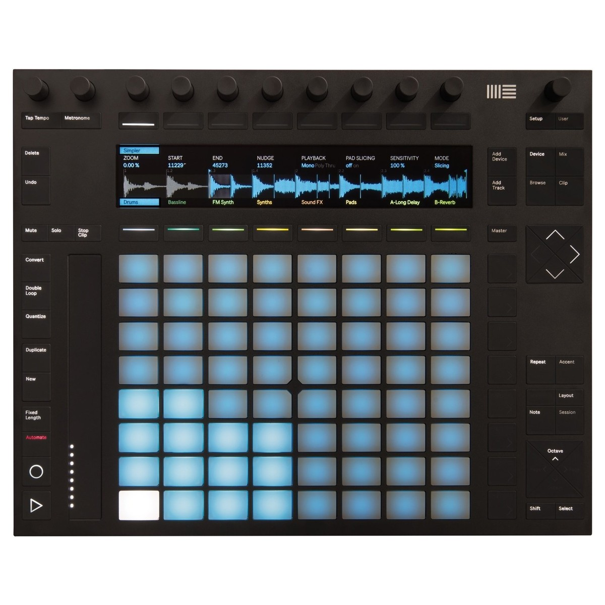 MIDI Software Controller - Ableton Push 2