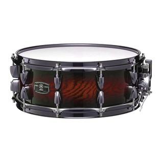 Yamaha Live Custom 14'' x 5.5'' Snare Drum, Amber Shadow Sunburst