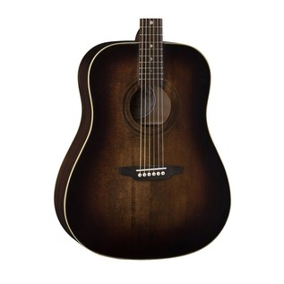 Luna Art Vintage Dread Solid Top Distressed Acoustic Guitar Body