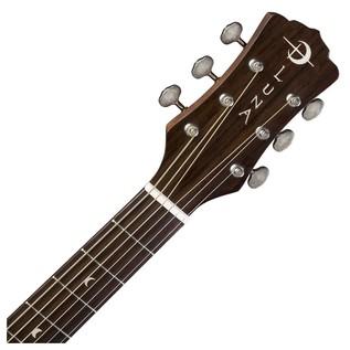 Luna Art Vintage Folk Solid Top Distressed Acoustic Guitar Neck