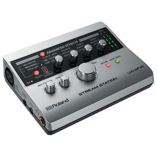 Roland UA-4FX2 Stream Station Audio Interface - Angled