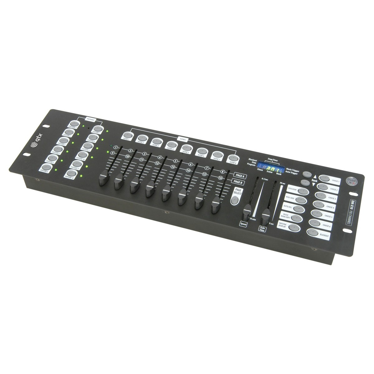 QTX DM-X10 192 Channel DMX Controller At Gear4music.com