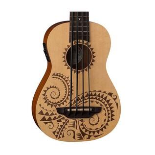 Luna Bari-Bass Ukulele, With Preamp, Tattoo