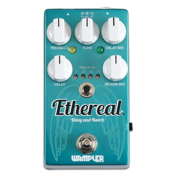 Wampler Ethereal Delay & Reverb Pedal 1