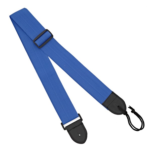 Guitar Strap by Gear4music, Blue 2""