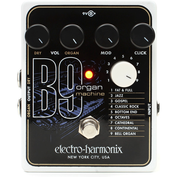 electro harmonix b9 organ machine box opened at gear4music. Black Bedroom Furniture Sets. Home Design Ideas