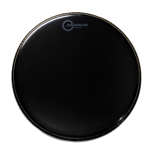 Aquarian Reflector 10'' Drum Head, Black Mirror Finish