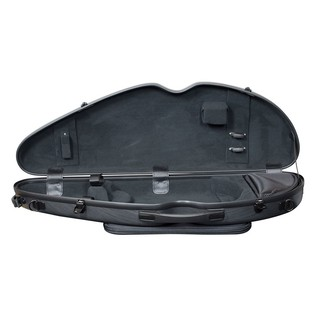Hidersine Violin Halfmoon Case Open