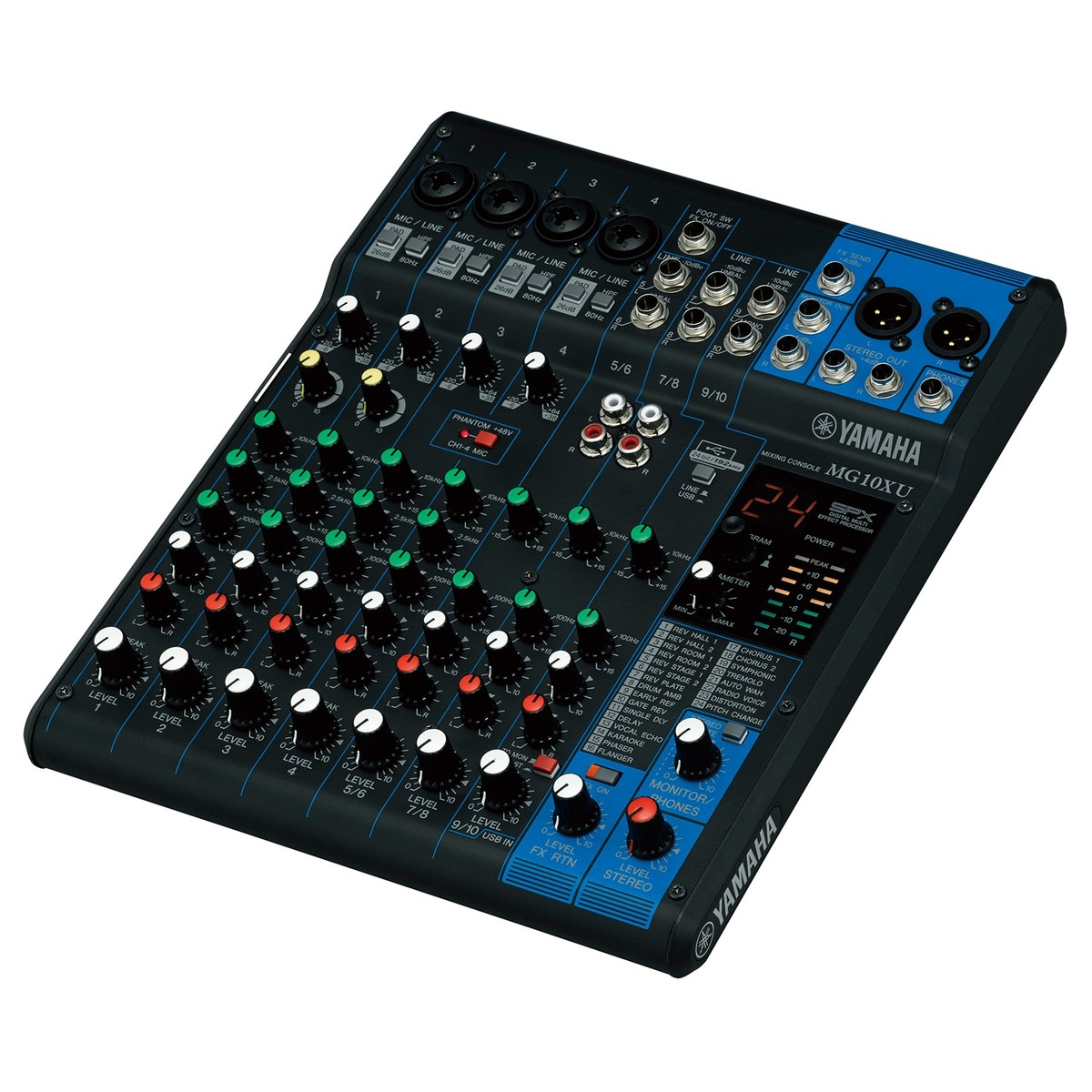 Yamaha MG10XU Analog USB Mixer. Loading zoom