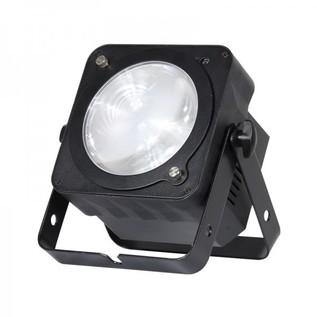 LEDJ Slimline 1T36 COB LED Par Can, Black Housing