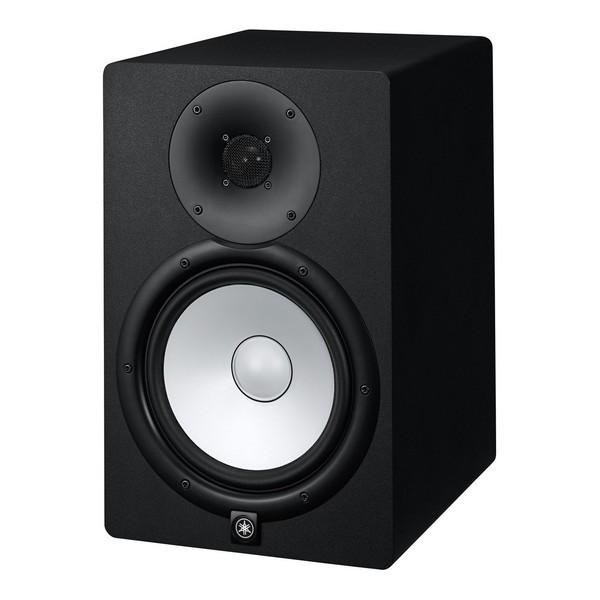 Yamaha HS8 Active Studio Monitor - Box Opened - Angled Left