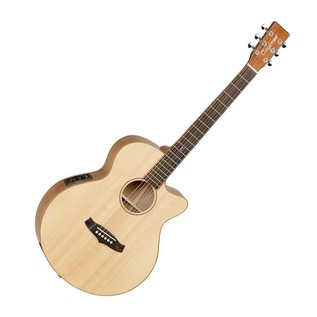 Tanglewood TWJSFCE-KOA Java Exotic Super Folk Electro Acoustic Guitar