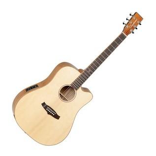 Tanglewood TWJDCE-KOA Java Exotic Dreadnought Electro Acoustic Guitar
