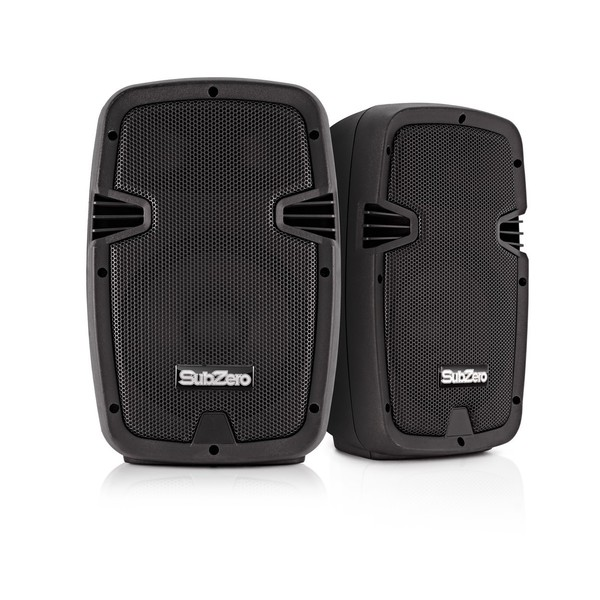 SubZero 200W Active/Passive Speaker System with Digital Media Player