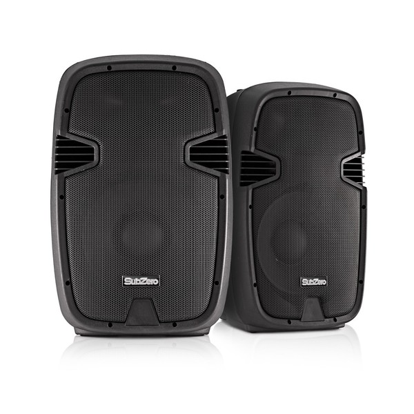 "SubZero 500W 12"" Speaker System with Digital Media Player"