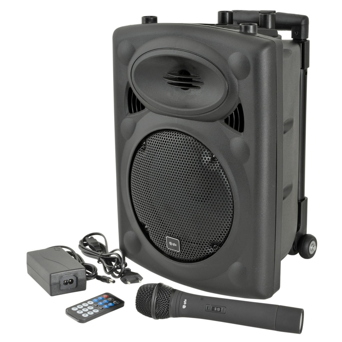 QTX QR8 Portable PA Speaker With Wireless Microphone at ...