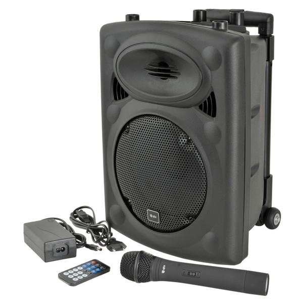 QTX QR8 Portable PA with Bluetooth