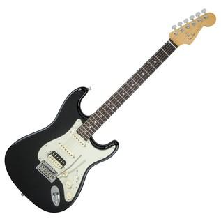 Fender American Elite Stratocaster HSS Shawbucker, EB, Mystic Black