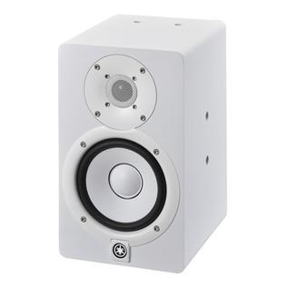 Yamaha HS5I Active Studio Monitor (Pair), White - Angled Left
