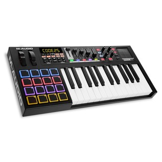M-Audio Code 25 Controller MIDI Keyboard - Angled