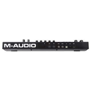 M-Audio Code 25 Controller USB/MIDI Keyboard, Black - Rear