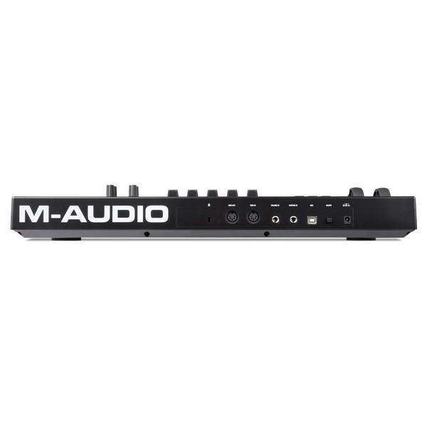 M-Audio Code 25 Controller USB/MIDI Keyboard, Black - Rear