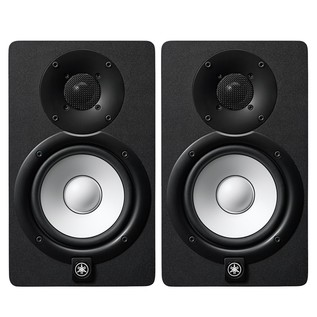 Yamaha HS5I Active Studio Monitor (Pair), Black - Bundle